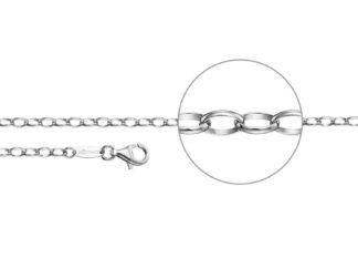 Kettenmacher Ankerkette silber 3,5 mm