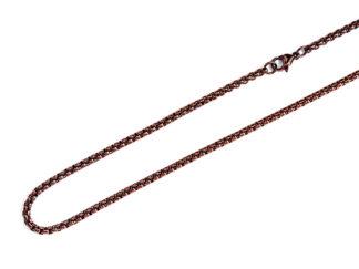 Traumfängerkette braun, 3 mm